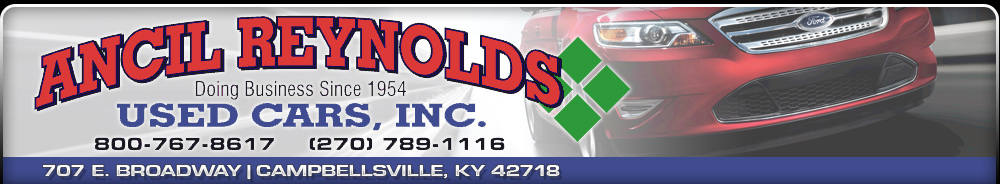 Ancil Reynolds Used Cars Inc. - Campbellsville, KY