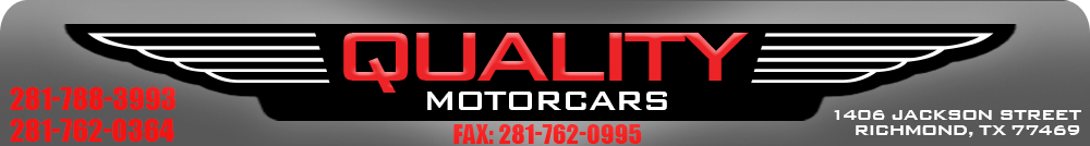 QUALITY MOTORCARS - Richmond, TX