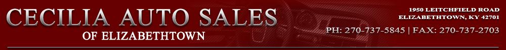 Cecilia Auto Sales - Elizabethtown, KY