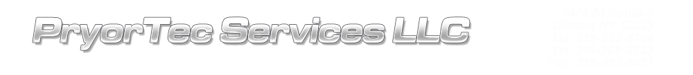 PryorTec Services Llc - Clinton, NY