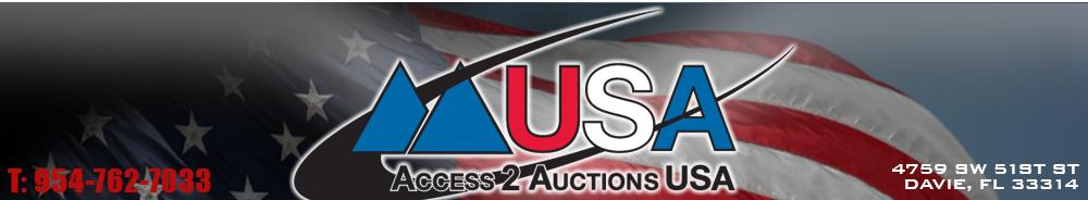 Access 2 Auctions USA - Davie, FL