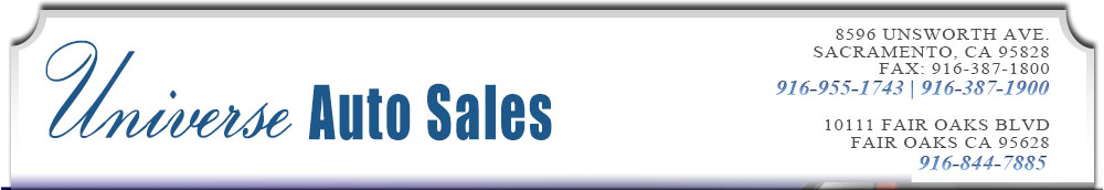 Universe Auto Sales - Sacramento, CA