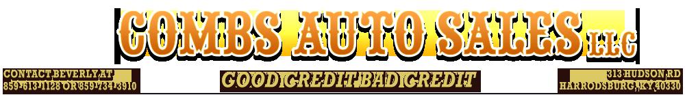 Combs Auto Sales LLC - Harrodsburg, KY