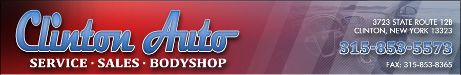 Clinton Auto Service - Sales - Bodyshop - Clinton, NY