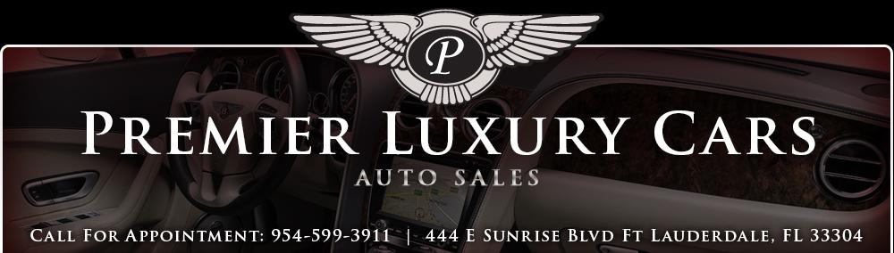 Premier Luxury Cars - Fort Lauderdale, FL