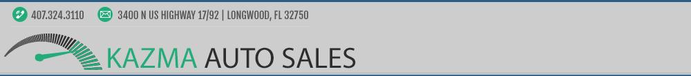 Kazma Auto Sales - Longwood, FL