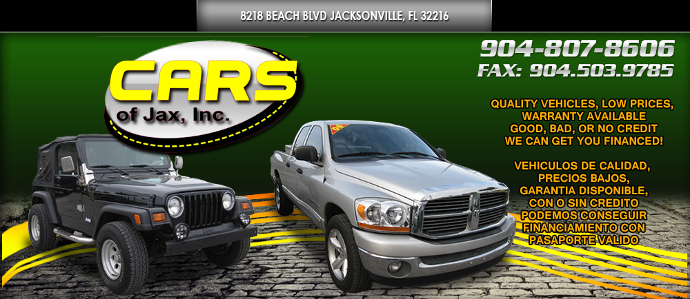 CARS OF JAX, INC. - Jacksonville, FL