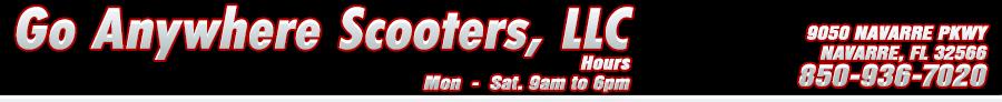 GO ANYWHERE SCOOTERS, LLC - Navarre, FL
