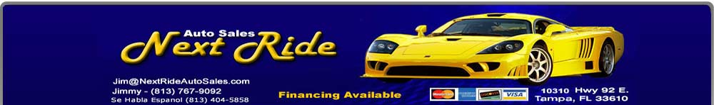 NEXT RIDE AUTO SALES INC - Tampa, FL
