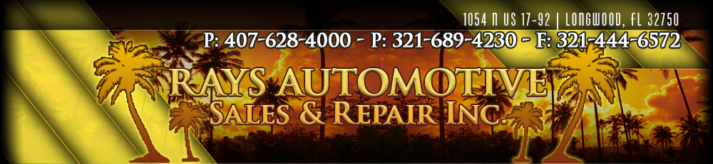 RAYS AUTOMOTIVE SALES & REPAIR INC - Longwood, FL