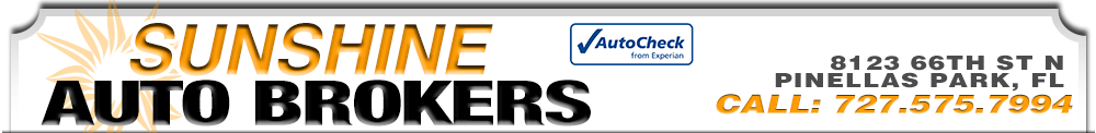 SUNSHINE AUTO BROKERS INC - Pinellas Park, FL