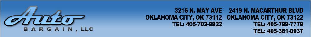 AUTO BARGAIN, INC - Oklahoma City, OK