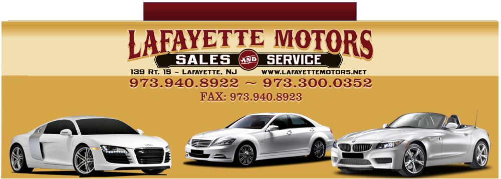 Lafayette Motors - Lafayette, NJ