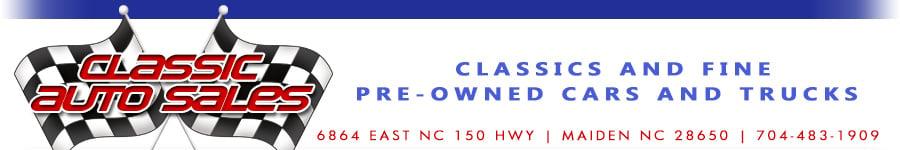 Classic Auto Sales - Maiden, NC