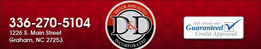 D & D Truck and Auto - Graham, NC