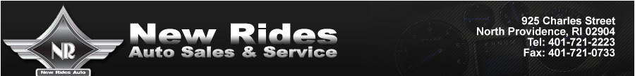 New Rides Auto Sales & Service - North Providence, RI