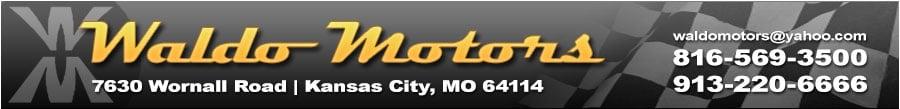 WALDO MOTORS - Kansas Cuty, MO