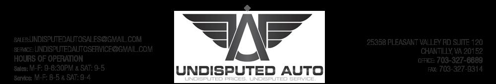 Undisputed Auto Sales & Repair Inc - CHANTILLY, VA
