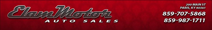 Elam Motor Auto Sales - Paris, KY