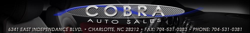 Cobra Auto Sales - Charlotte, NC