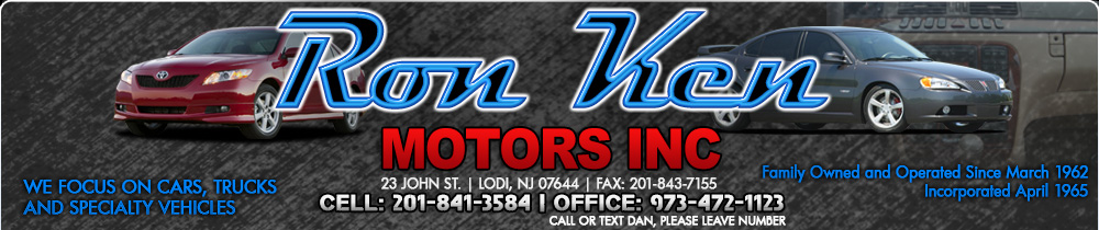 Ron Ken Motors Inc - Lodi, NJ