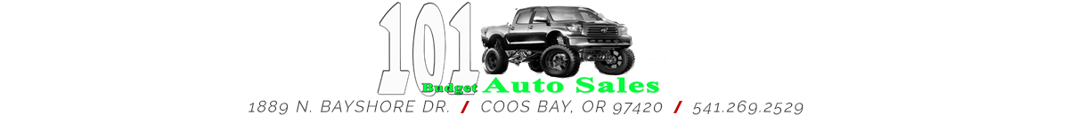 101 BUDGET AUTO SALES - COOS BAY, OR