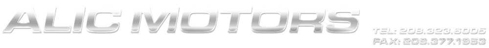ALIC MOTORS - Boise, ID