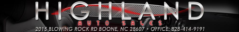 Highland Auto Sales - Boone, NC