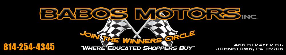 BABO'S MOTORS INC - Johnstown, PA