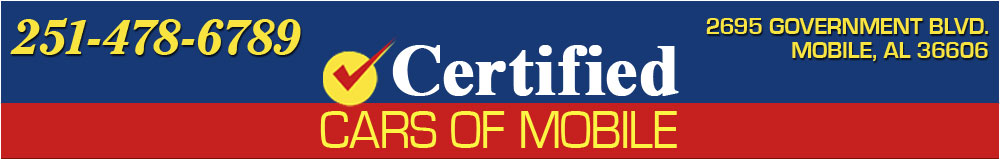 CERTIFIED CARS OF MOBILE - Mobile, AL