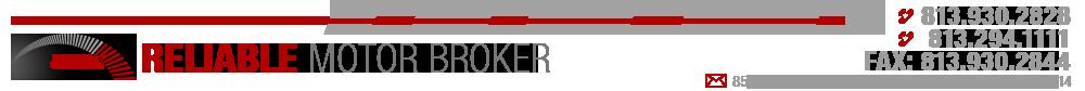 Reliable Motor Broker - Tampa, FL