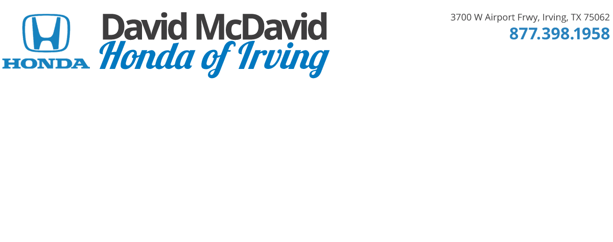 David mcdavid honda of irving used cars irving tx dealer for David mc david honda