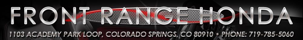 FRONT RANGE HONDA - Colorado Springs, CO