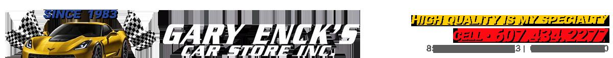 GARY ENCK`S CAR STORE, INC. - Oneonta, NY