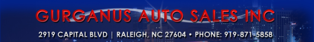 GURGANUS AUTO SALES INC - Raleigh, NC