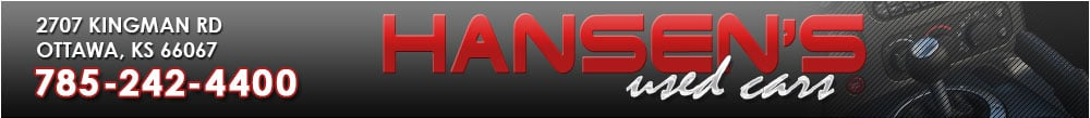HANSEN'S USED CARS - Ottawa, KS