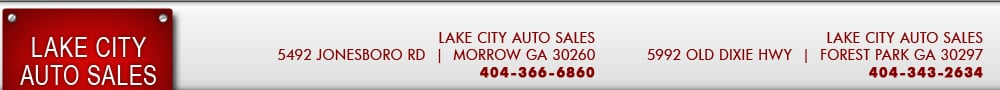 LAKE CITY AUTO SALES - Morrow, GA