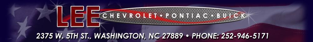 LEE CHEVROLET PONTIAC BUICK - Washington, NC