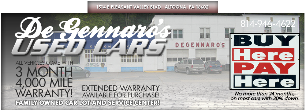 De Gennaro's Used Cars - Altoona, PA