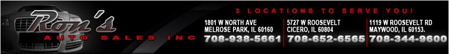 RON'S AUTO SALES INC - Melrose Park, IL