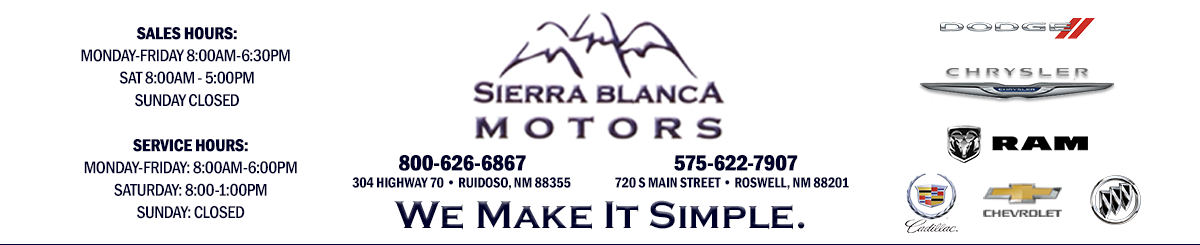 SIERRA BLANCA MOTORS - RUIDOSO, NM