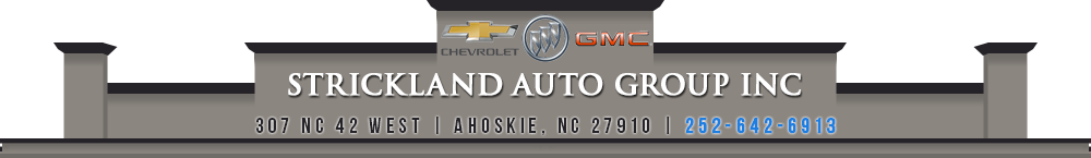 STRICKLAND AUTO GROUP INC - Ahoskie, NC