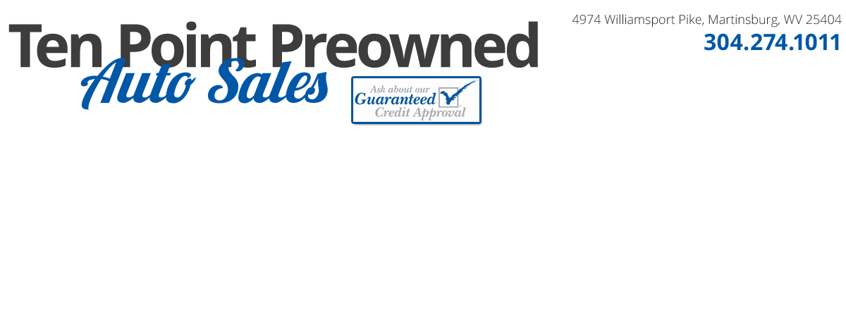 Ten Point Preowned Auto Sales - Martinsburg, WV
