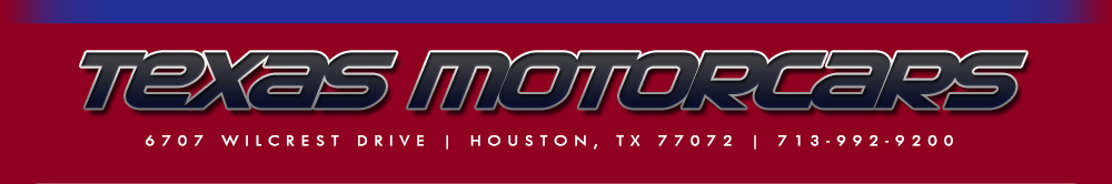 TEXAS MOTORCARS - Houston, TX