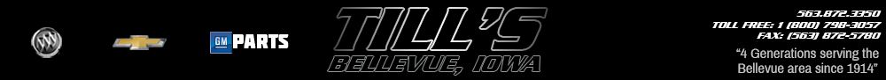 TILL CHEVROLET BUICK - Bellevue, IA