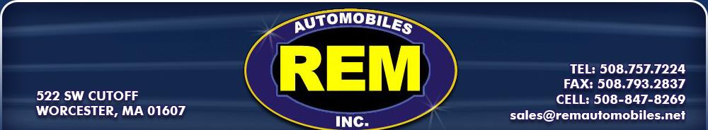 Rem Automobiles Inc - Worcester, MA