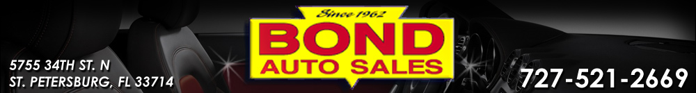 Bond Auto Sales - Saint Petersburg, FL