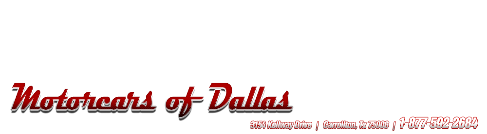Motorcars of Dallas - Carrollton, TX