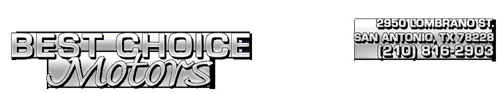 Best Choice Motors - San Antonio, TX