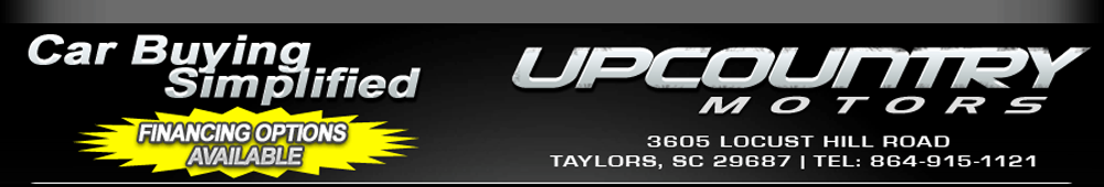 Up Country Motors - Taylors, SC